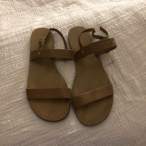 J. Crew slingback sandals